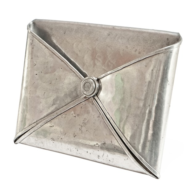 1970's Hammered Pewter Envelope Letter Holder-fears-and-kahn-goardereletterholder_main_635943394313590083.jpg