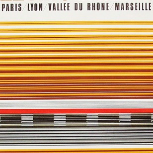 1970s French Rail SNCF Poster