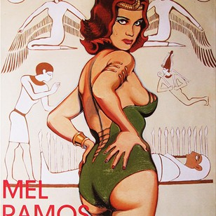 Signed Mel Ramos Exhibition Poster Pop Art