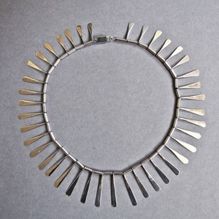 1960s Silver Paleta Taxco Necklace