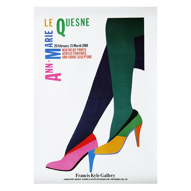 1980's Le Quesne Art Exhibition Poster-fears-and-kahn-quesne poster_main.jpg