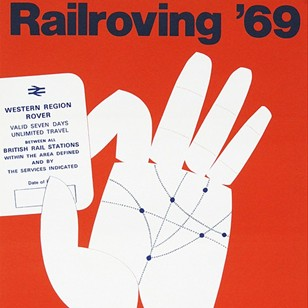 1960's Railroving British Rail Travel Poster