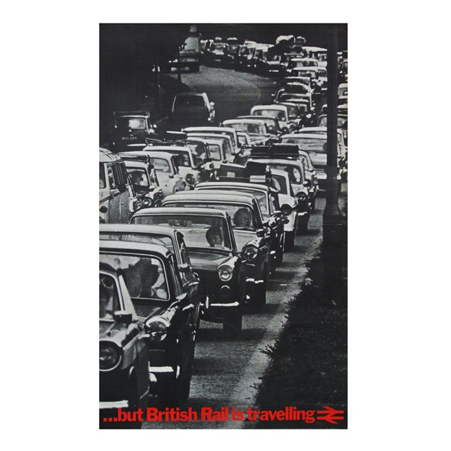 1970s British Rail Travel Traffic Jam Cars Poster-fears-and-kahn-railtravel-dibs_main_636408201696001987.jpg