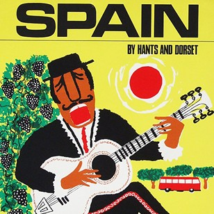 1960s Spain Travel poster by Royston Cooper