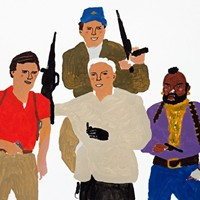 'The A-Team' Painting on Paper by Alan Fears