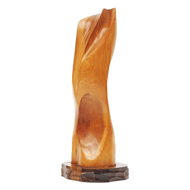 1980s Abstract Hand carved Yew Sculpture-fears-and-kahn-watsonsculpturelge-2_main_636165238679104406.jpg