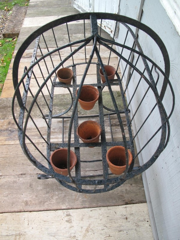 Cradle Wrought Iron Blacksmith made c. 1880-fleet-gallery-7--main-637271455496745765.JPG