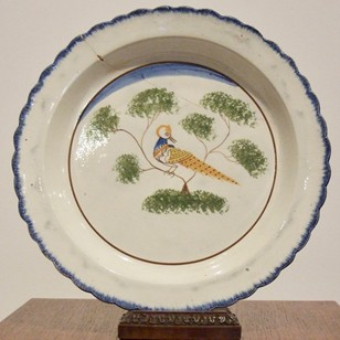 18thc English Delft Charger