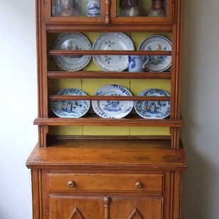French Fruitwood & Pine Dresser
