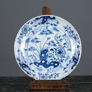 Delft Saucer Dish, English probably Liverpool