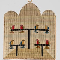 "Tapestry by Elaine Short ""Love Birds"""