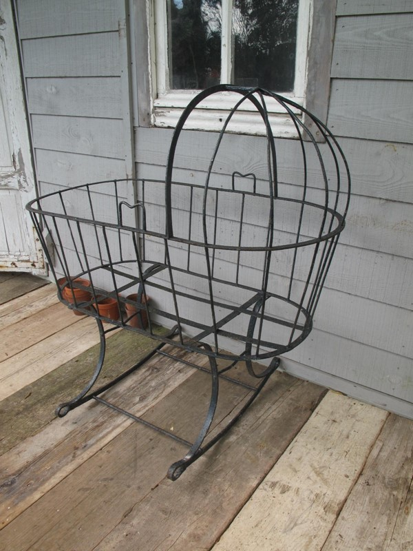 Cradle Wrought Iron Blacksmith made c. 1880-fleet-gallery-cradle-2-main-637271455531276276.JPG