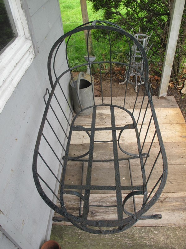 Cradle Wrought Iron Blacksmith made c. 1880-fleet-gallery-cradle-4-main-637271455517682821.JPG