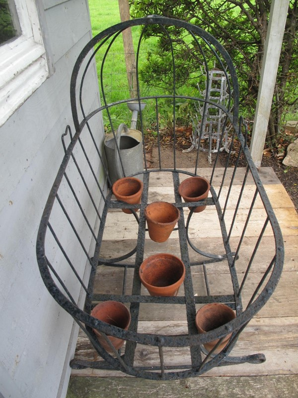 Cradle Wrought Iron Blacksmith made c. 1880-fleet-gallery-cradle-5-main-637271455510651396.JPG