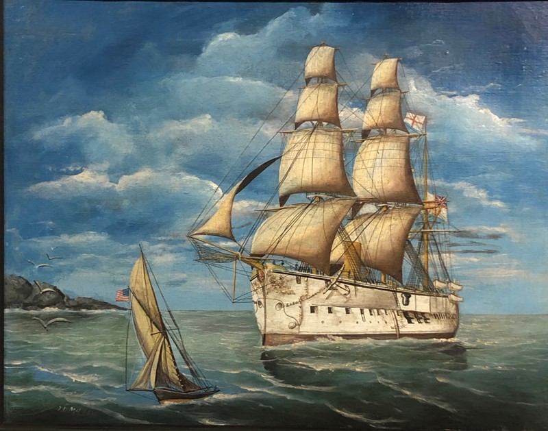 a pair of oil on canvas of hms triumph 1887/88-fleet-gallery-img-0741-main-637446848593092723.jpeg