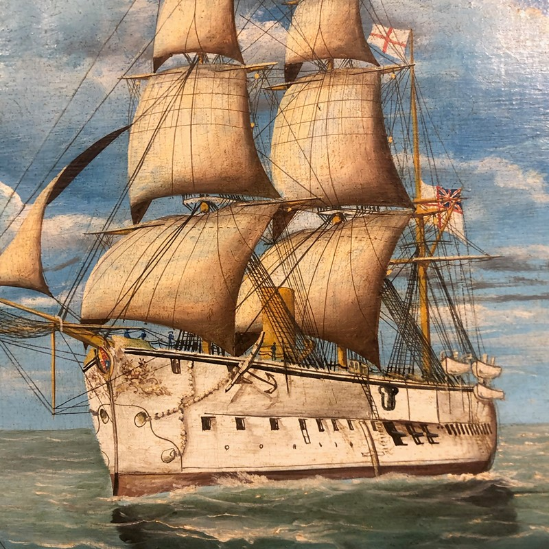 a pair of oil on canvas of hms triumph 1887/88-fleet-gallery-img-0742-main-637446849131840072.jpeg