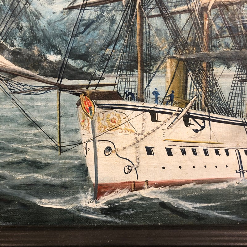 a pair of oil on canvas of hms triumph 1887/88-fleet-gallery-img-0749-main-637446848115126428.jpeg