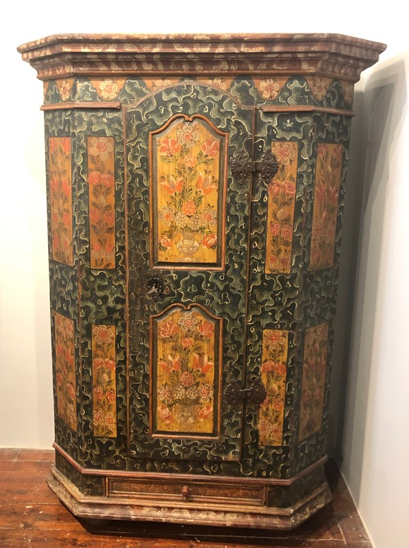 Austrian Empire Painted  Armoire .circa 1840.-fleet-gallery-img-1340-main-637539249917614884.jpeg
