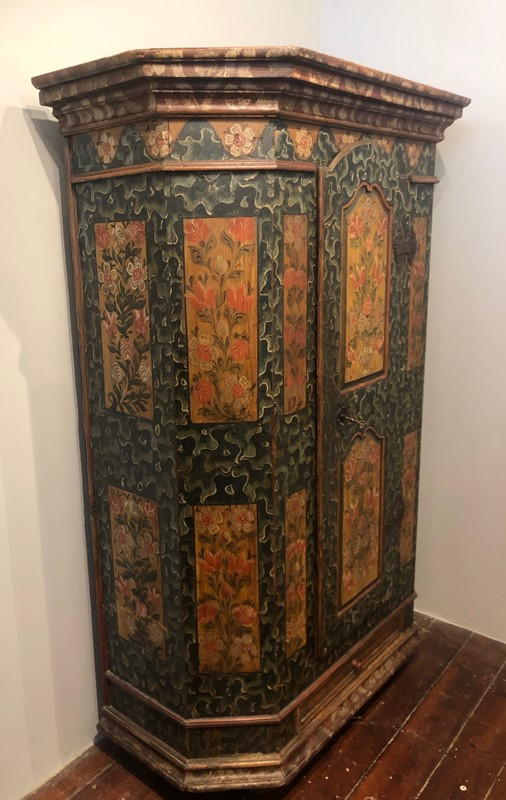 Austrian Empire Painted  Armoire .circa 1840.-fleet-gallery-img-1354-main-637539249263399685.jpeg