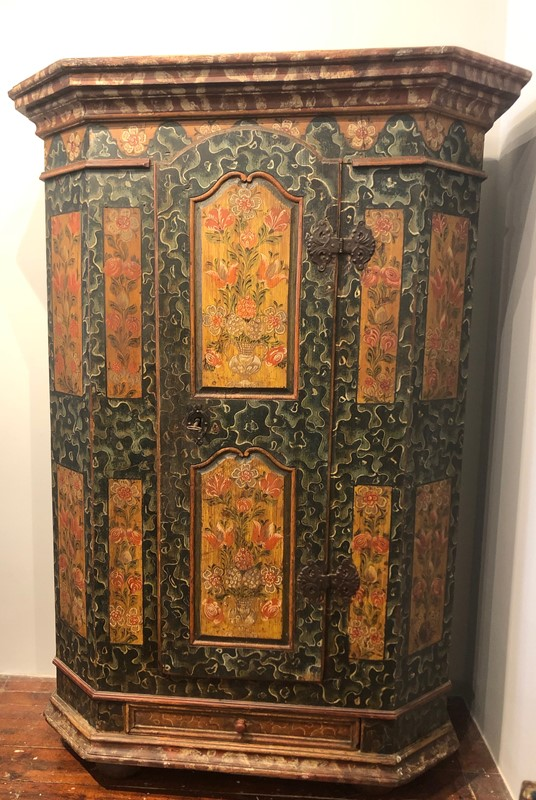 Austrian Empire Painted  Armoire .circa 1840.-fleet-gallery-img-1356-main-637539248835276509.jpeg
