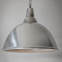 4. Holophane Spun Anglepoise top. Large. 10 avail.