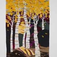 "Tapestry by Elaine Short ""Birchwood"""