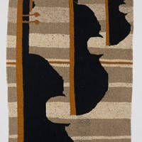 "Elaine Short. "" String Trio"" tapestry"