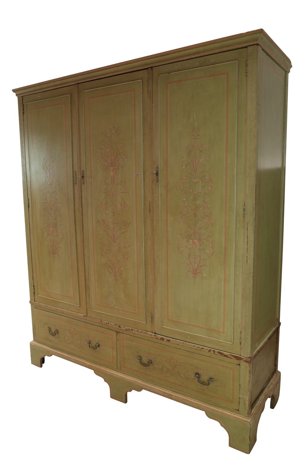 edwardian compactum with original decoration decorative collective. Black Bedroom Furniture Sets. Home Design Ideas