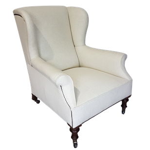 Wingback Country House Armchair