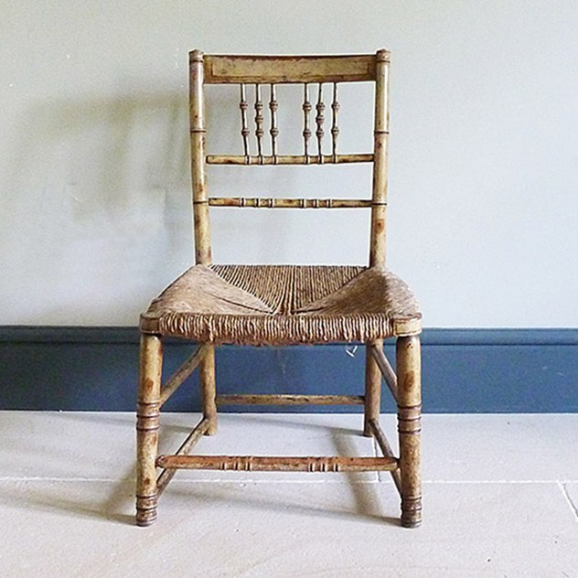 Charming 19C diminutive painted chair-foster-and-gane-19C faux bamboo painted child's chair_main.jpg
