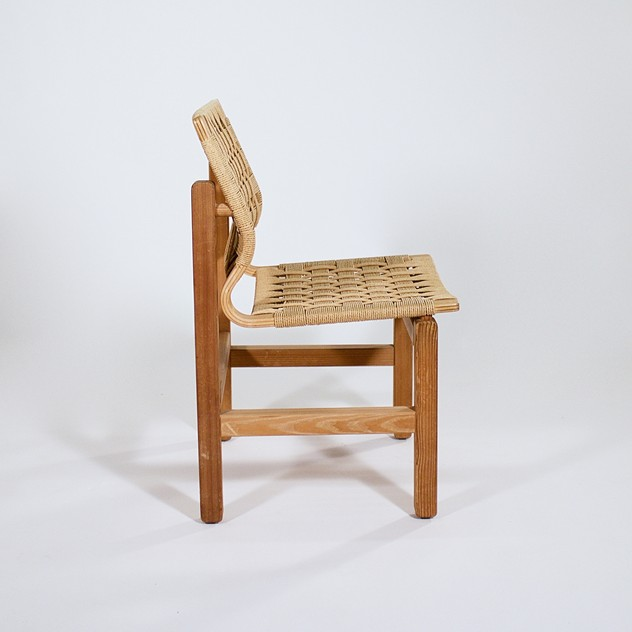 An Oregan pine and paper cord side chair-foster-and-gane-3270b_main_636292652286878289.jpg
