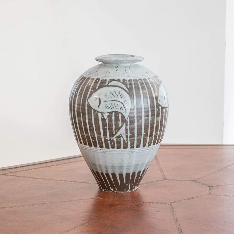 A large studio pottery vase by Tony Dasent-foster-and-gane-dasent1-main-636940532455061476.jpg