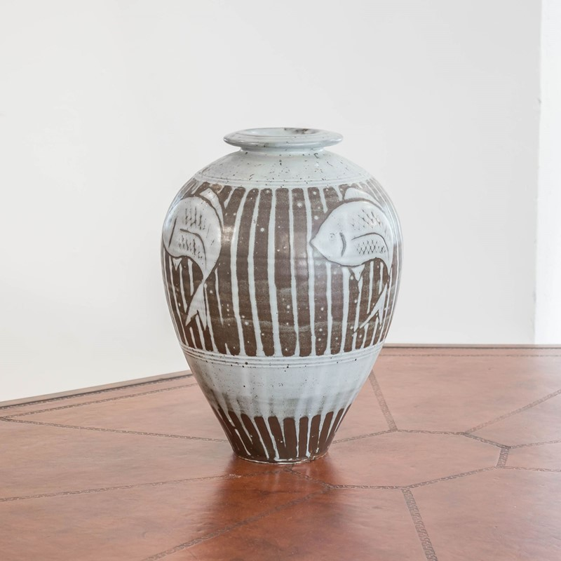 A large studio pottery vase by Tony Dasent-foster-and-gane-dasent2-main-636940532612520404.jpg