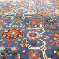 Artistic c.1900 European carpet