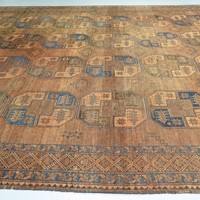 Large antique Ersari carpet