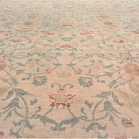 Square shape Spanish Cuenca carpet