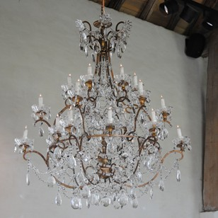 Excellent pair of Chandeliers