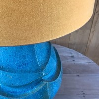 ceramic lamp with shade