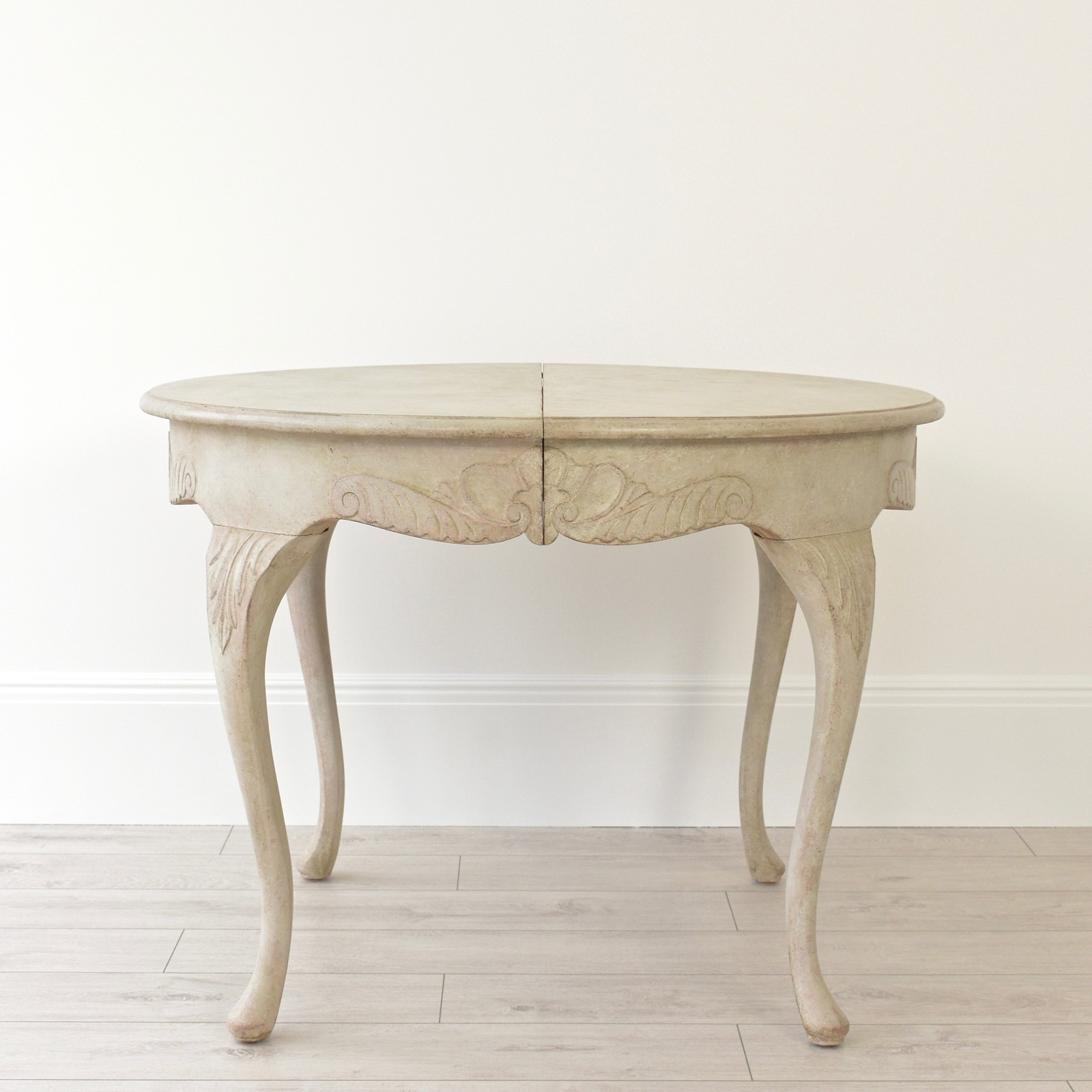 Exceptional Swedish Rococo Dining Table Decorative Collective