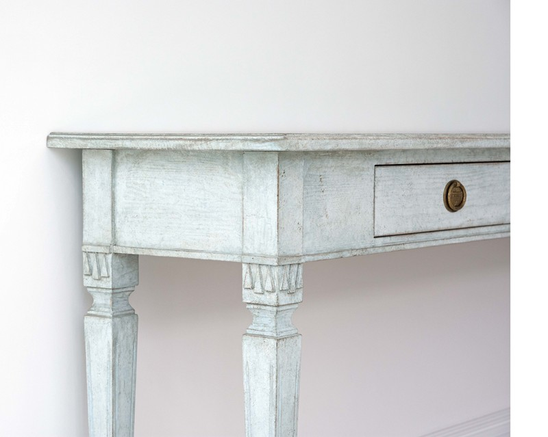 Bespoke Stockholm Made Gustavian Console Table-georgia-lacey-antiques-Long blue bespoke Swedish Gustavian console table 5-main-636712156474522837.jpg
