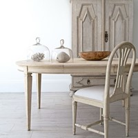 Bespoke Stockholm Made Gustavian Extension Table