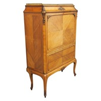 Marble Top Secretaire a Abbatant by Whytock & Reid