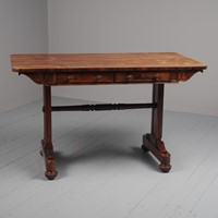 Scottish Regency Rosewood Sofa Table