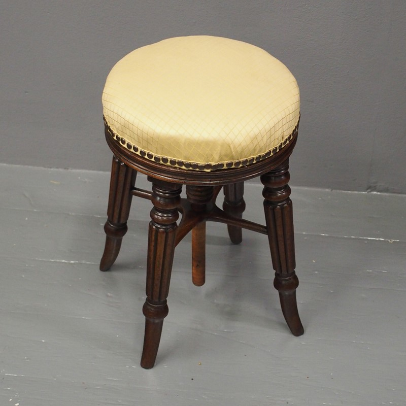 George IV Mahogany Adjustable Piano Stool-georgian-antiques-1-stool-main-637096792157094568.jpg