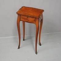 French Kingwood and Tulipwood Occasional Table