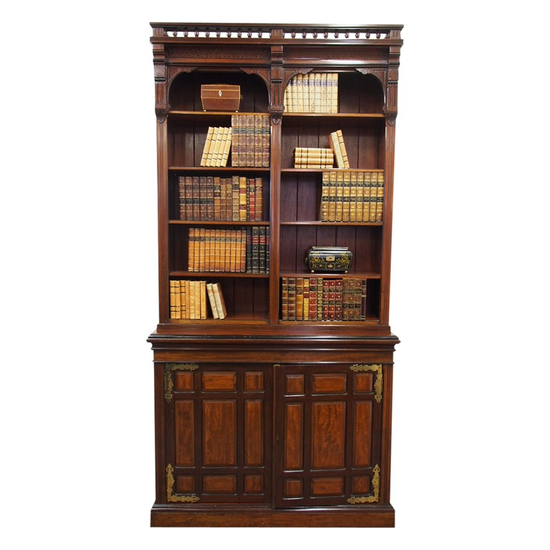 Arts and Crafts Mahogany Open Bookcase by W. Walke-georgian-antiques-12885-main-636613793390758735.jpg