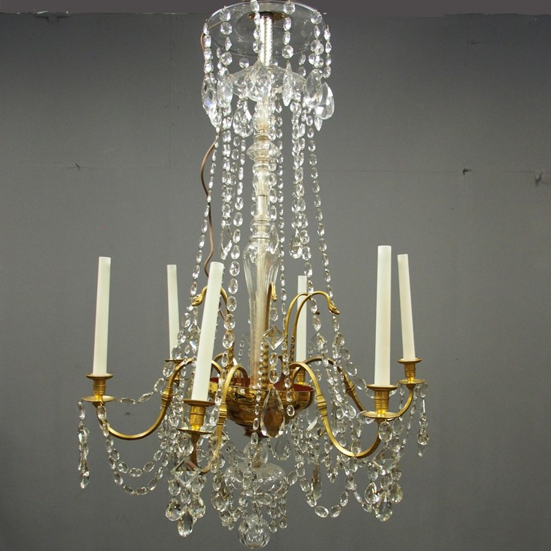 Large Gilt Brass and Glass Chandelier-georgian-antiques-1_Chandelier-main-636776203986051374.jpg