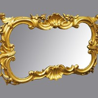 Rococo Mirror by Ciceri and Co, Edinburgh