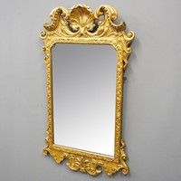 George III Carved Giltwood Mirror