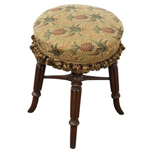 Regency Revolving Piano Stool